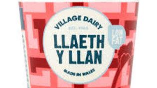 Llaeth y Llan Yoghurts Rhubarb (each)