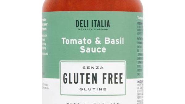 Deli Italia Gluten Free Tomato & Basil Pasta Sauce