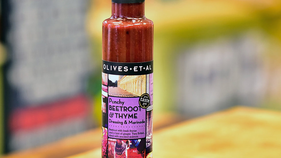 Olives Et Al beetroot and thyme dressing 250ml