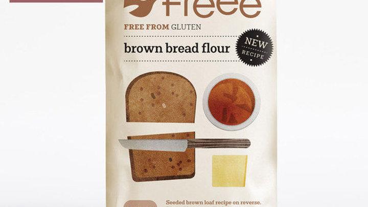 Freee by Doves Farm Gluten Free Brown Bread Flour 1kg