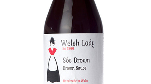 Welsh Lady Sos Brown