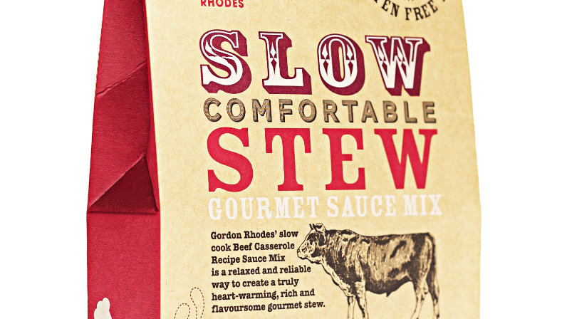 Slow Comfortable Stew Gourmet Sauce Mix