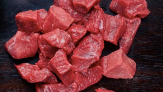 Welsh Diced Stewing Steak (250g)