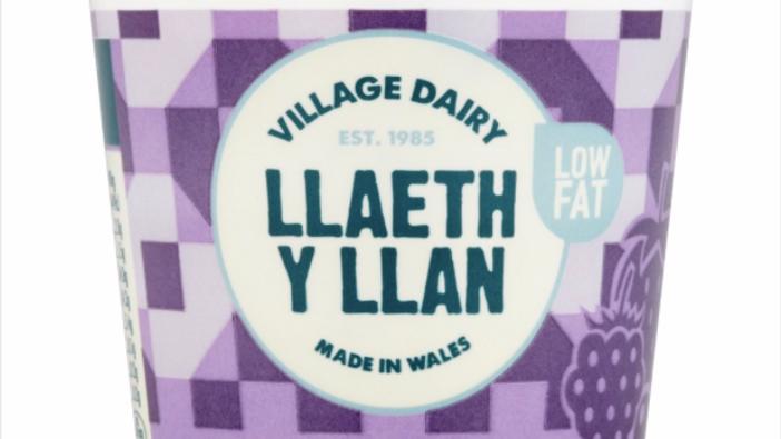 Llaeth y Llan Yoghurts Forest Fruit (each)