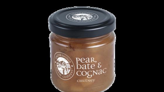 Pear, Date & Cognac Chutney