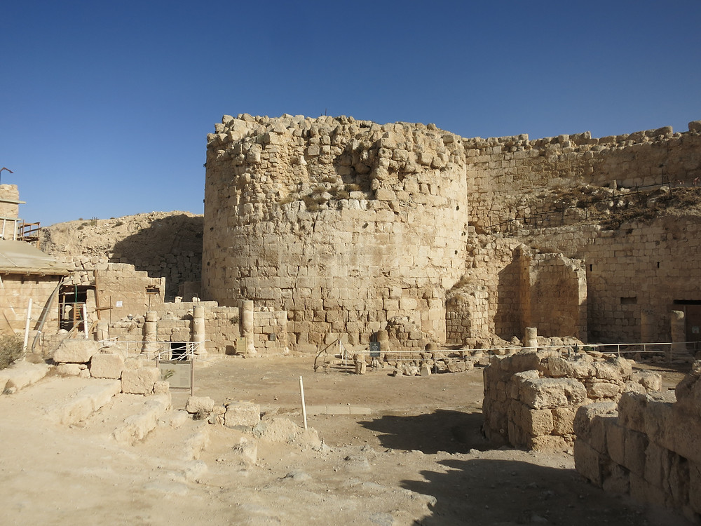 Inside the palace/fortress