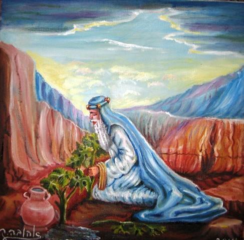 Noah Planting His Vineyard