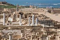 Caesarea Archeological Site Israel