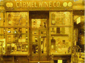 Early Photo of the Carmel Wine Company Store
