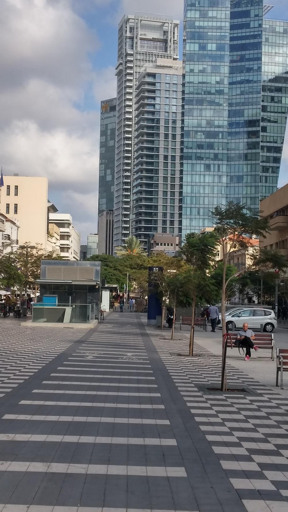 Modern Towers on Rothschild Blvd