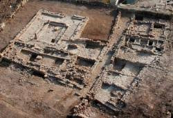 Airial View of Excavations