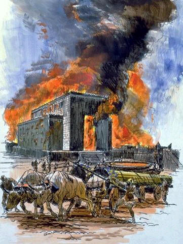 Destruction of the First Temple by the Babylonians