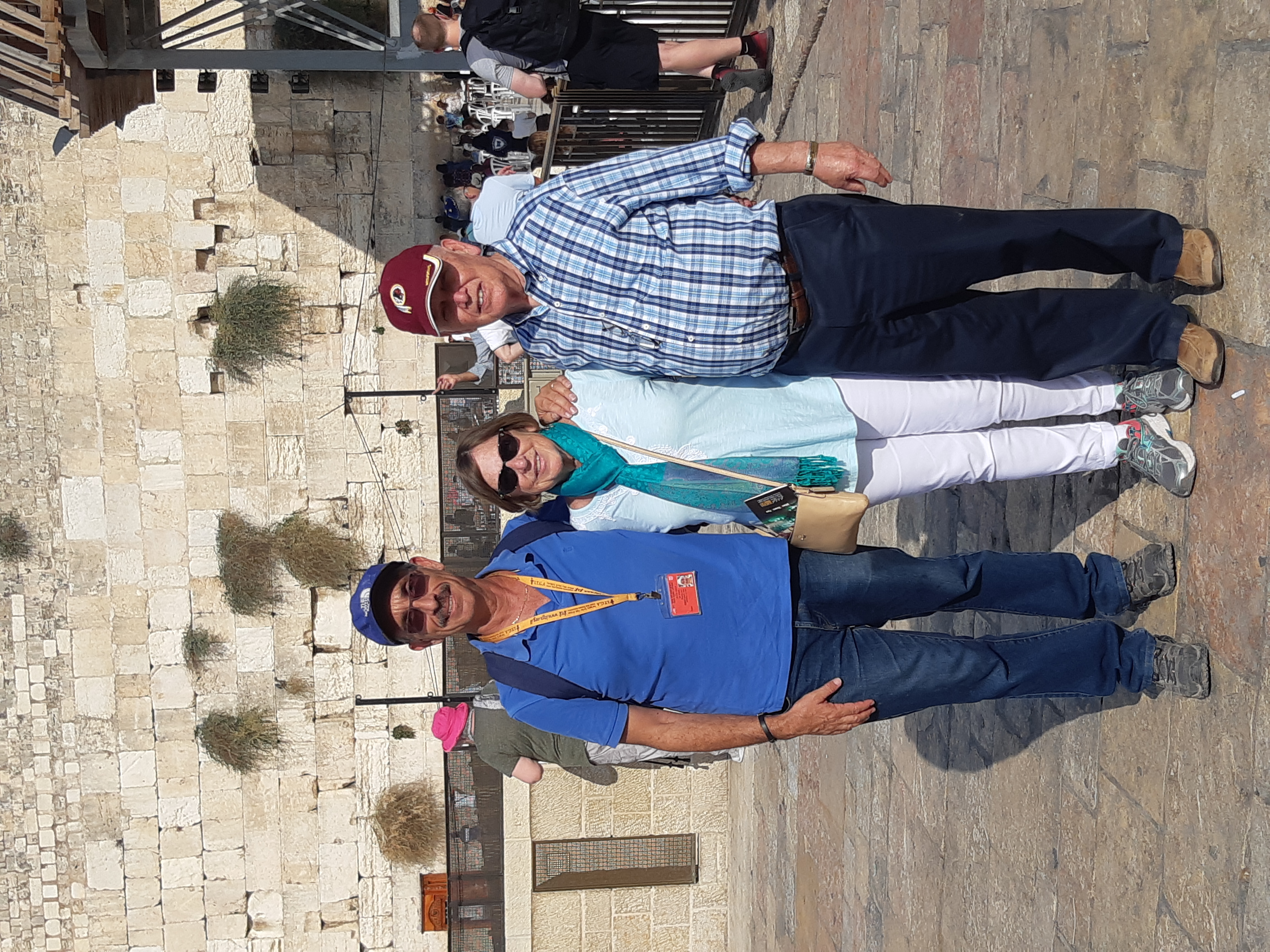 Together at the Western Wall