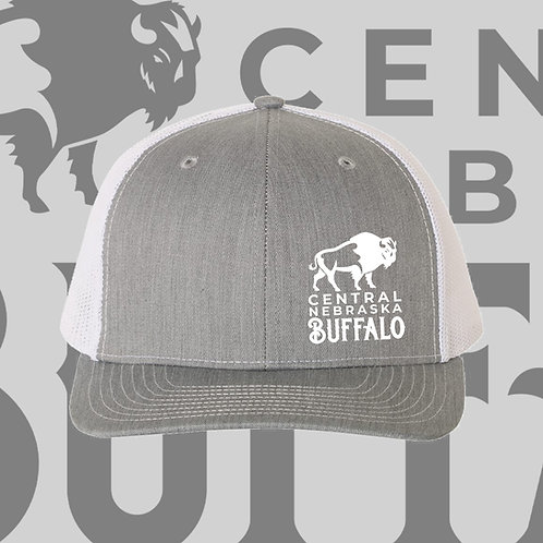 CNB Grey/White Hat- Free Shipping