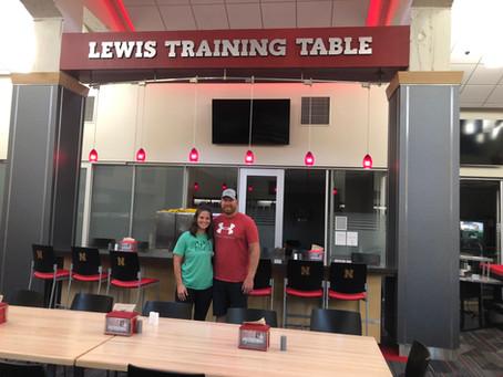 University of Nebraska Training Table