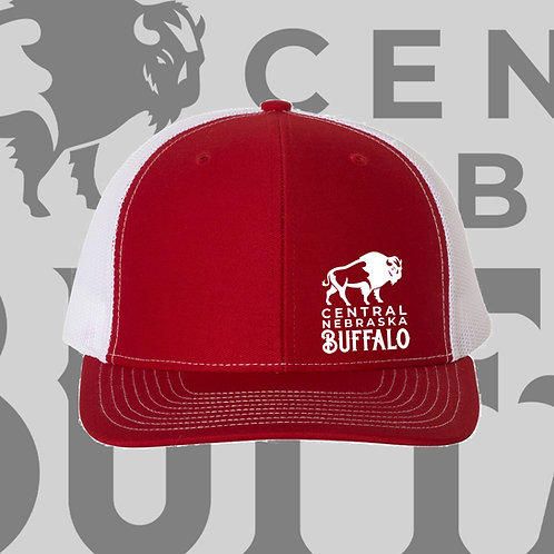 CNB Red/White Hat