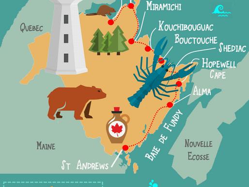 Le Nouveau-Brunswick : road-Trip à l'Est du Canada