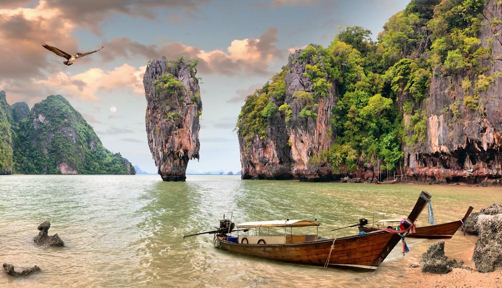 Khao Phing Kan en Thaïlande