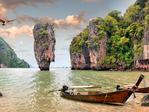 Khao Phing Kan et Ko Tapu en Thaïlande