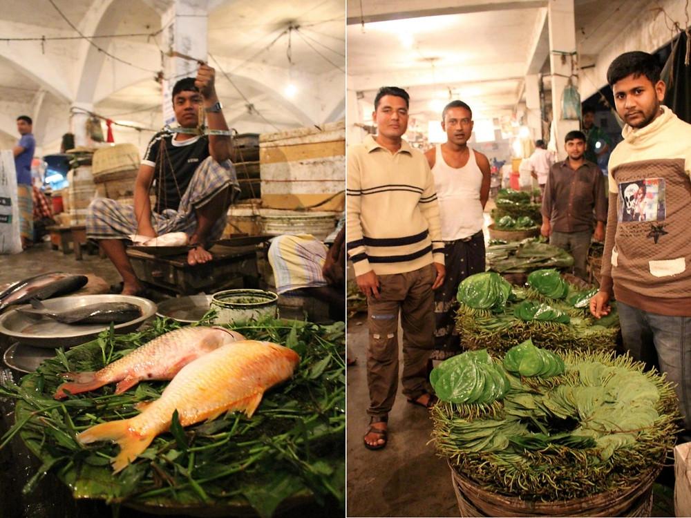 Srimangal Bangladesh Marché