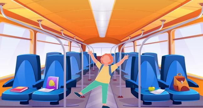 Voyage avec enfants train