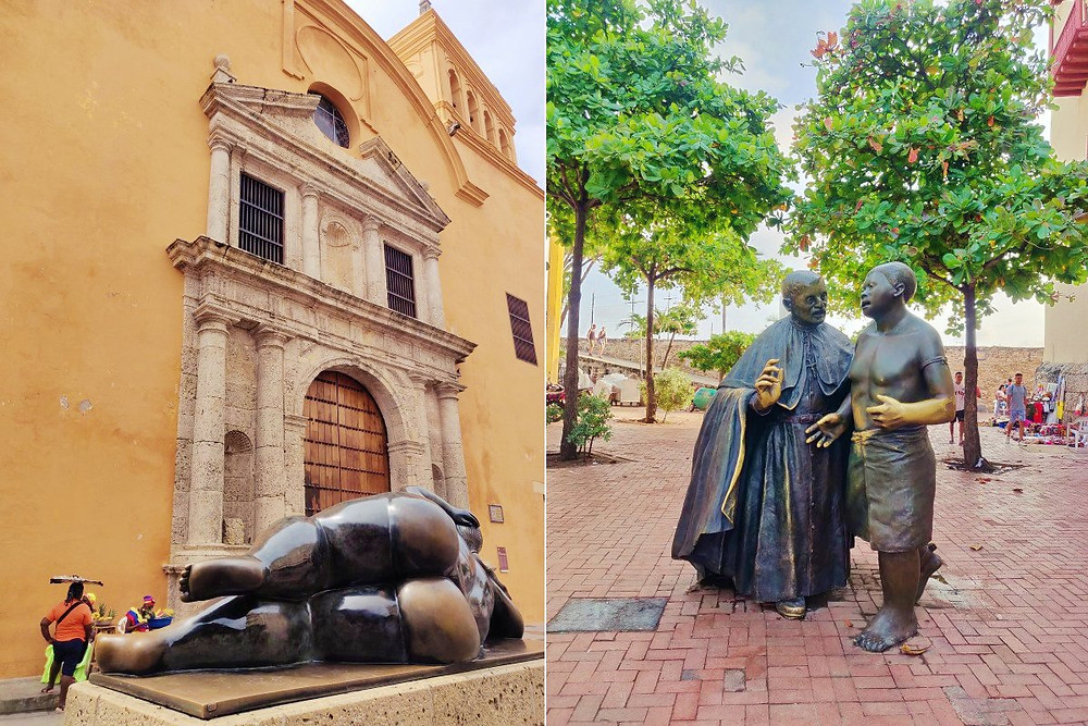 place Santo Domingo cartagena