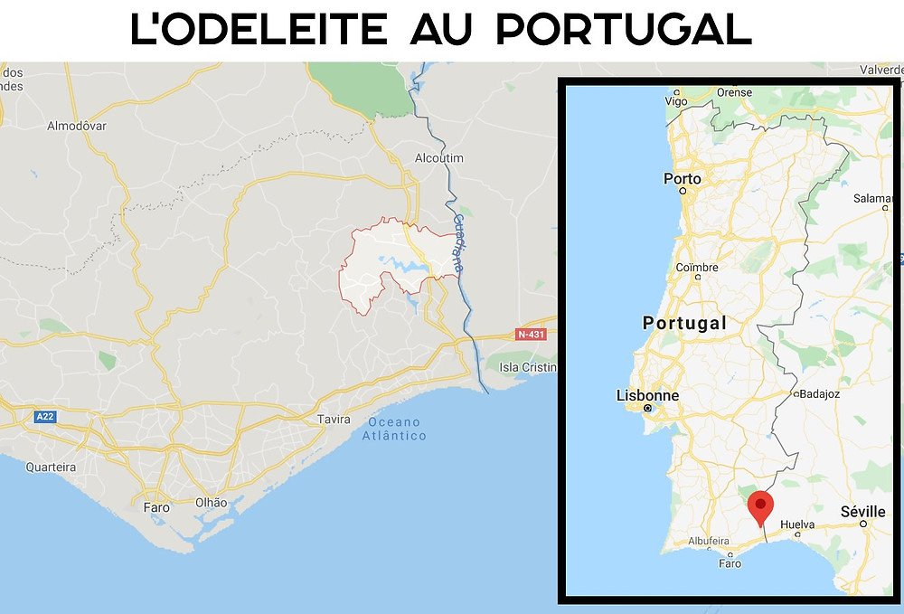 carte odeleite portugal