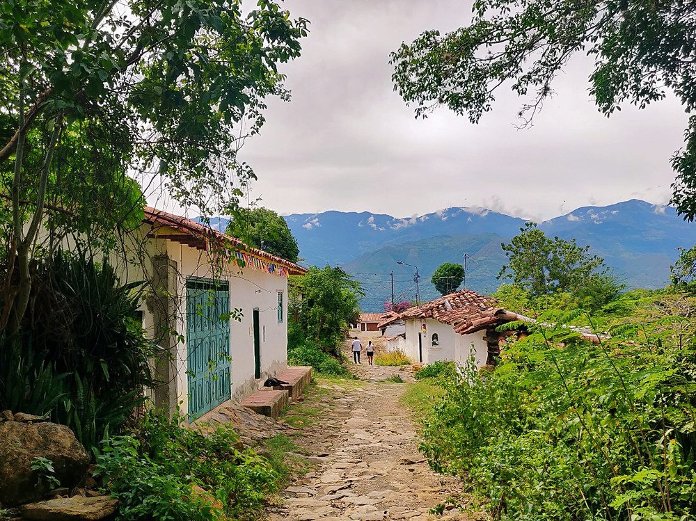 arrivée Guane Colombie