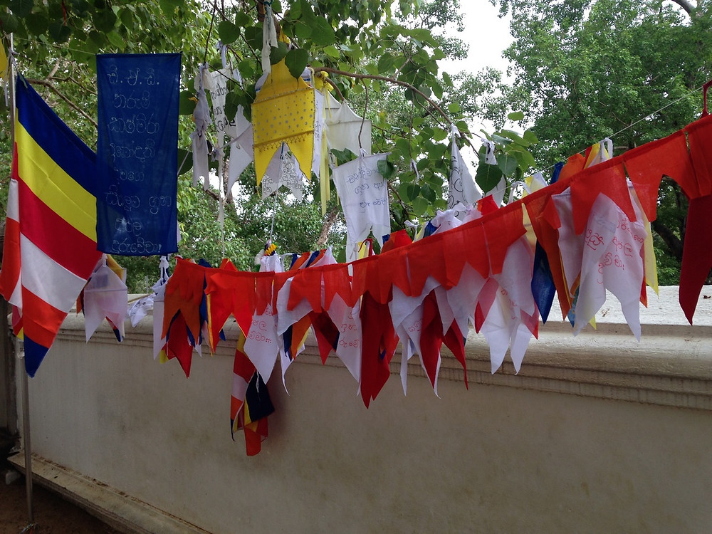 drapeaux Anuradhapura