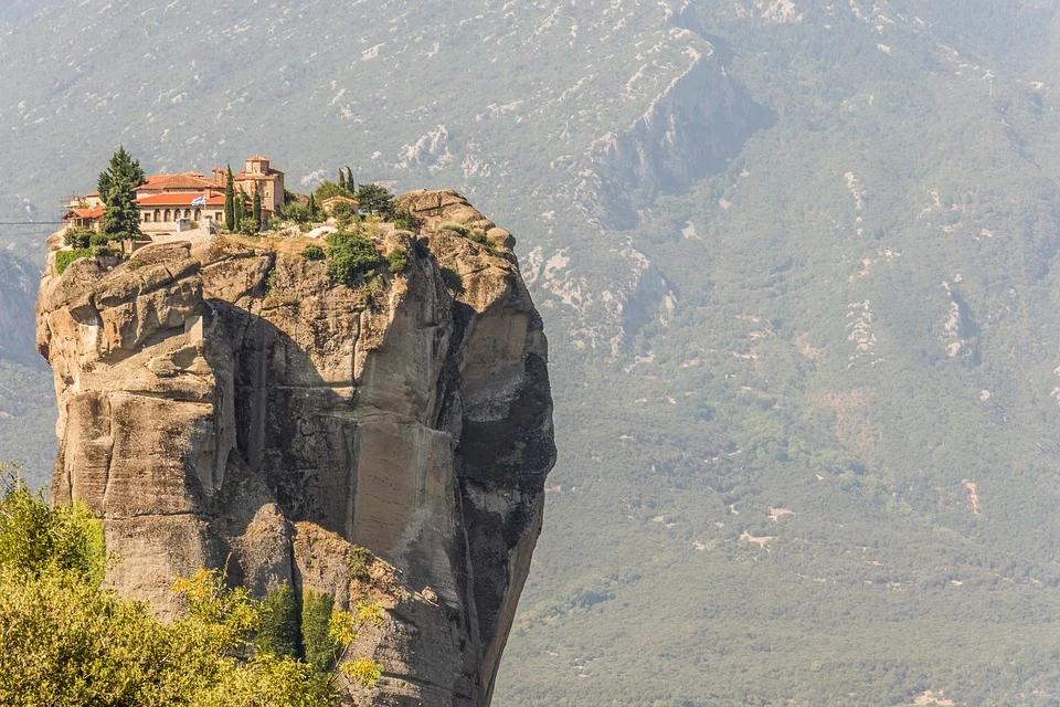 Météores en Grèce