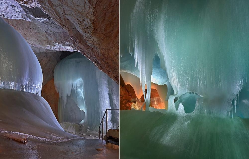 Se rendre à la grotte de glace de Werfen