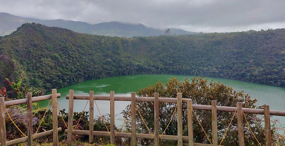 Laguna de Guatavita lac