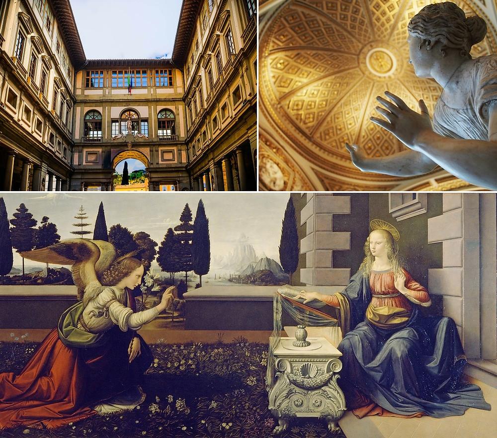 3 jours à Florence Galerie des offices