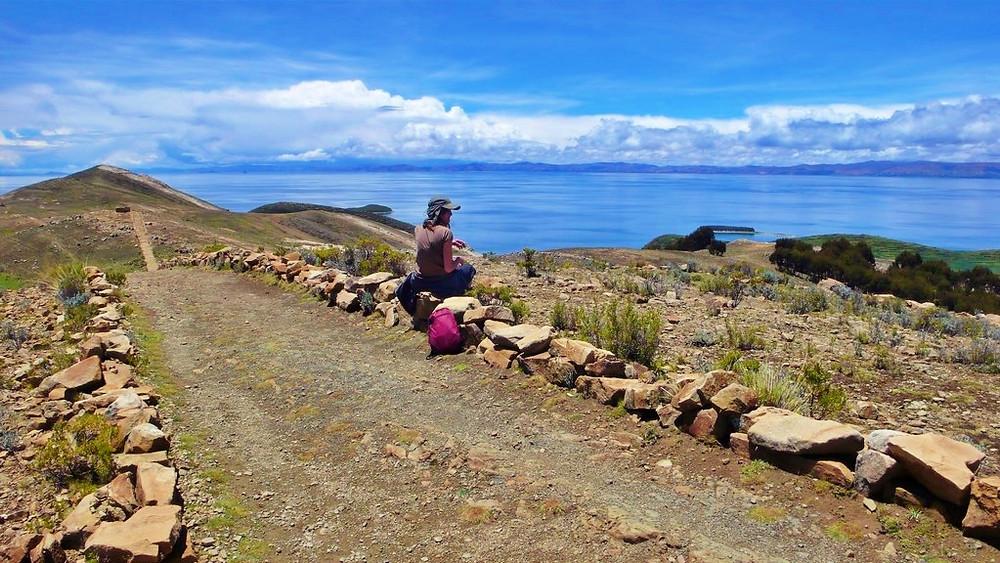 Isla del Sol Bolivie trek