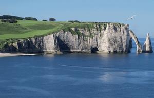 Falaises d'Etretat Patrimoine naturel de France