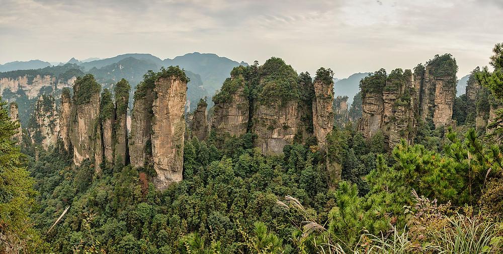 Parc national de Zhangjiajie Tianzi
