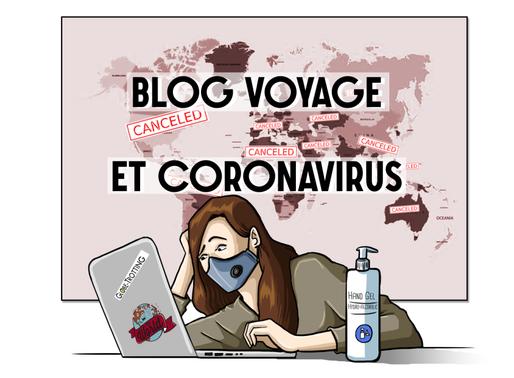 Blog voyage et coronavirus