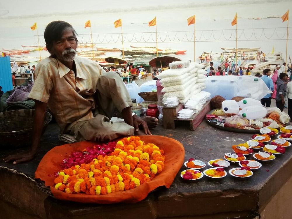 Offrandes Varanasi