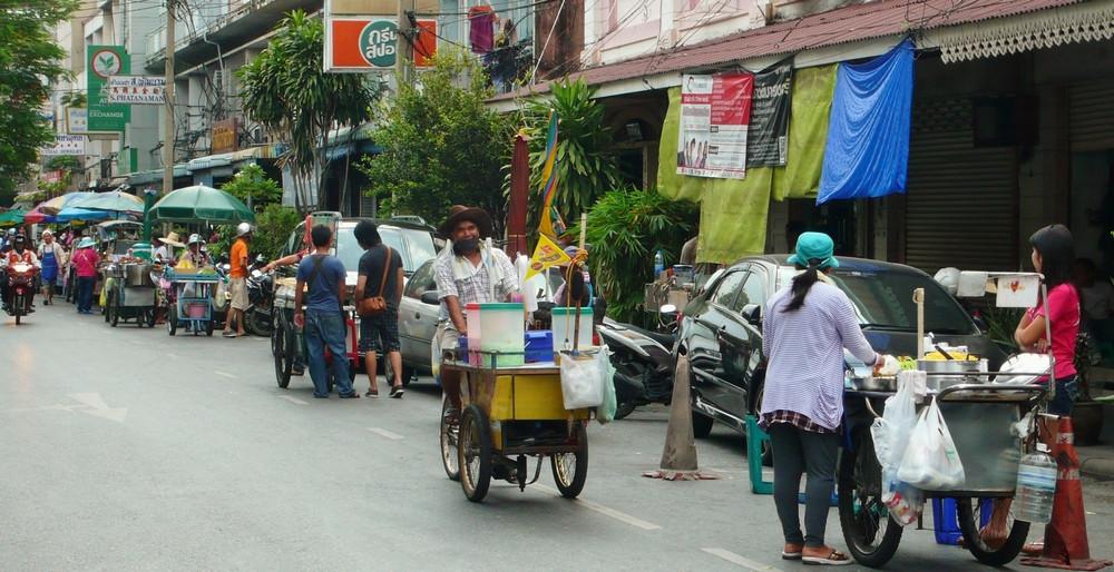 Bangkok itinéraire voyage