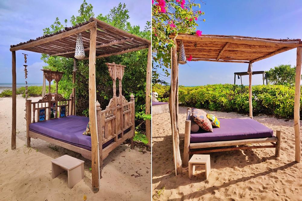 plage Sharazād Boutique Hôtel à Jambiani