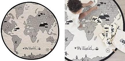 Tapis de jeu globe