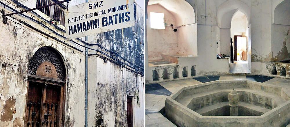 visite bains Hamamni stone town