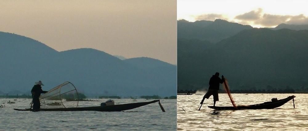 pêche tradittionnelle lac inlé