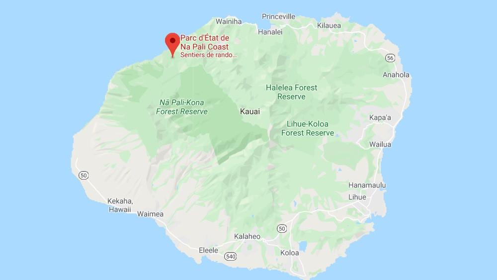 napali hawai carte