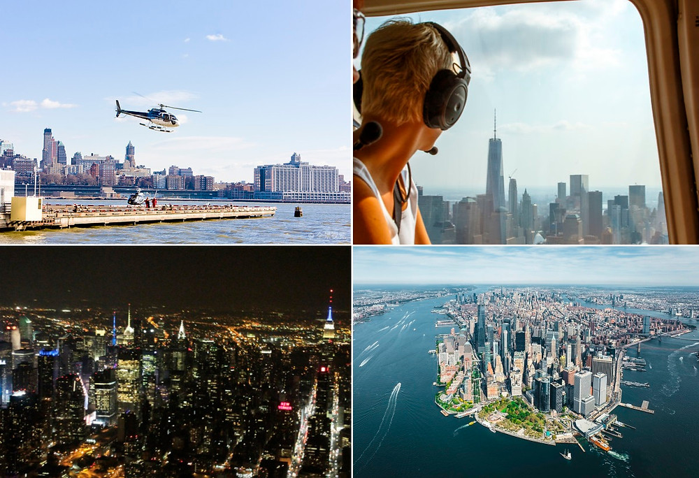 New York Insolite Helicoptere