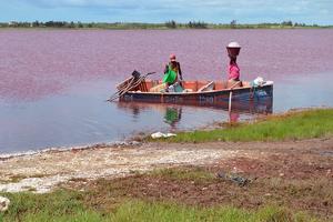 sel lac rose sénégal