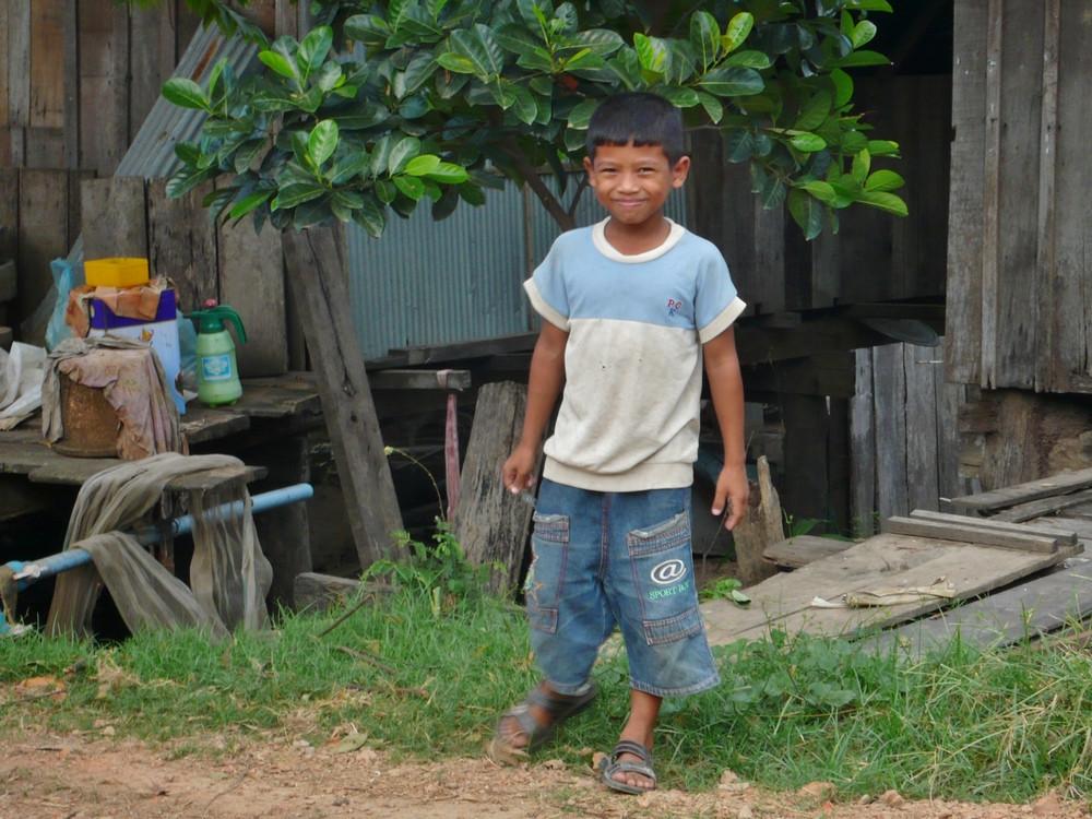 garçon cambodge Kratie