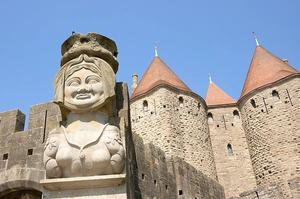 Cité médiévale Carcassonne Monument historique France