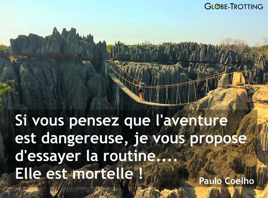 Citation voyage Paulo Coelho