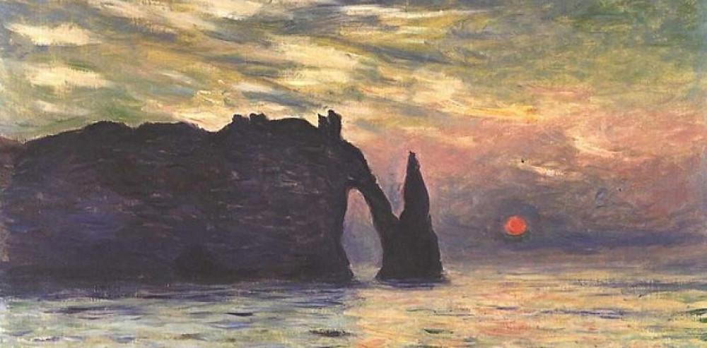 Monet Etretat Peinture